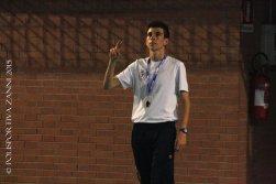 Il sempre ottimo arbitro Roberto Giusti