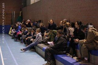 Bella presenza di pubblico al Fantini, di entrambe le squadre.